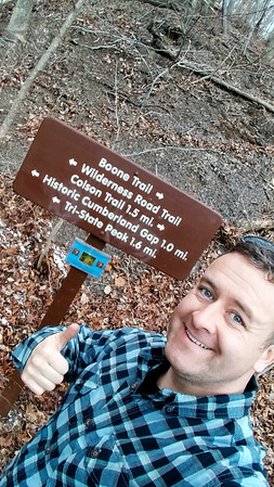 Hiking up the Cumberland Gap!