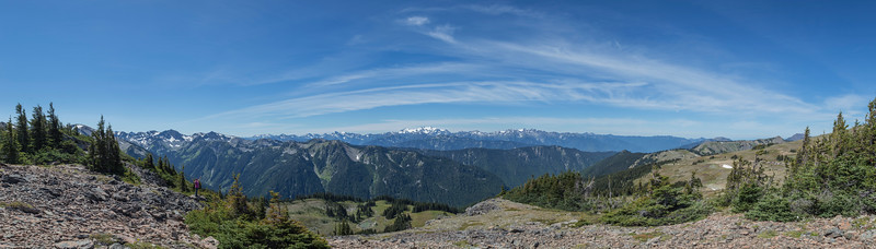 Panorama from Obstruction Point