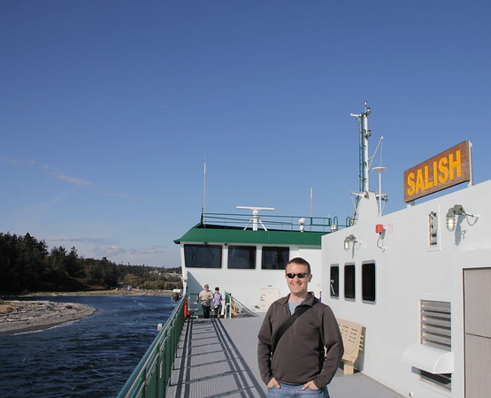 me on the Salish enjoying the sunshine and the open spaces