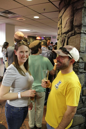 Beer tasting at the Coors Brewery