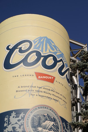 Visiting the Coors Brewery!