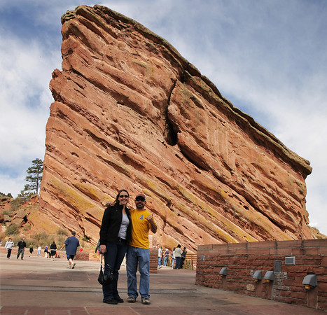 Rachel and Dave at Red Rocks