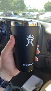 My new cup for camping (& etc.)! Thanks Michel!