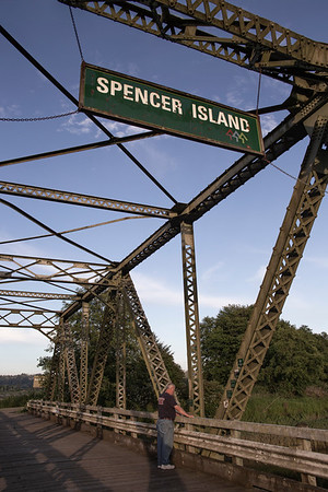 Photo shoot at Spencer Island in the Snohomish River Valley with dad!
