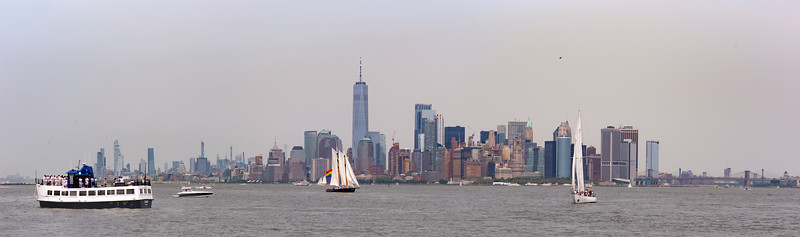 Manhattan from Upper New York Bay