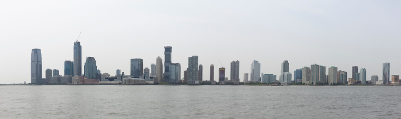 Jersey City from the water