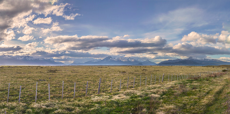 A bit futher down the road, near the Puerto Natales airport