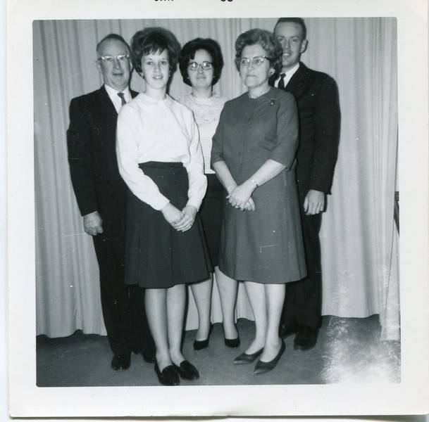 1966 January VanDeventer family