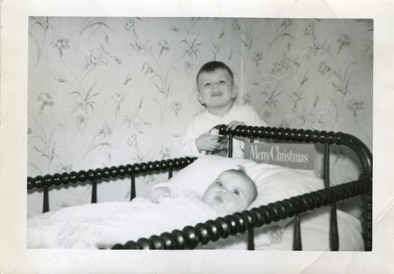 Bobby and Karen Sue December 1950 Kauffman
