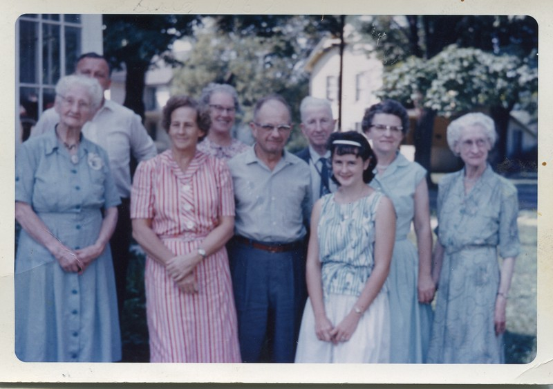 1962 Grace, Jane nephews and nieces