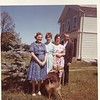 1962 Alice Carol Marlene Robert at Newark Valley home