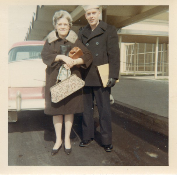 1966 Alice and Bob at Syracuse Airport