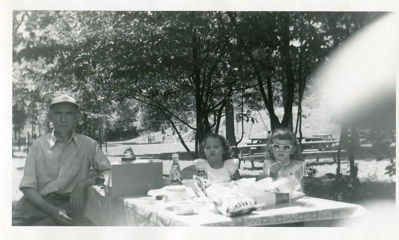 1951 July Carol and Marlene VanDeventer