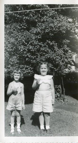 1951 Carol and Marlene VanDeventer July