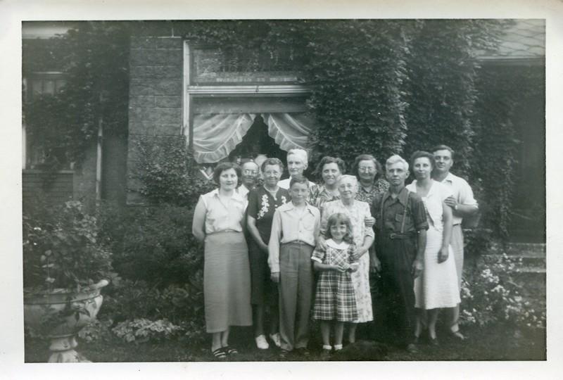 1951 the Heuys Bob Alice Ruth VanDeventer