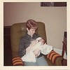 1968 Saturday February 17 Todd 4 days old, one day home with Carol