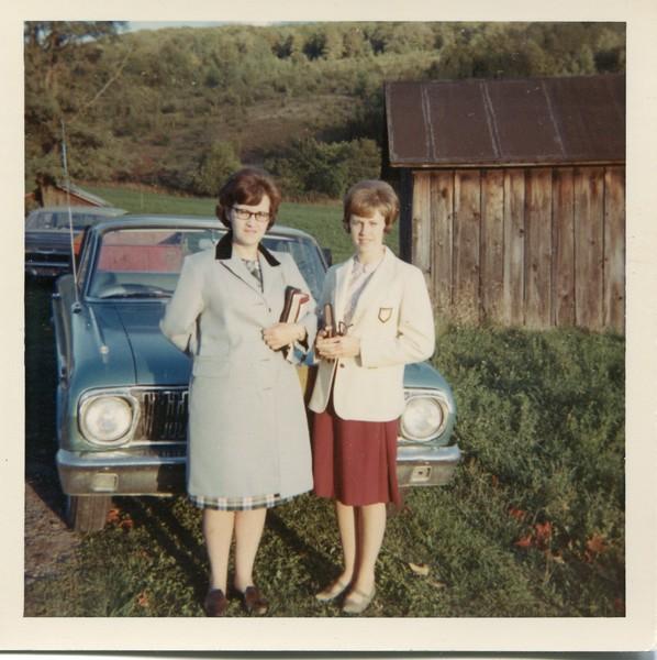 Marlene and Carol