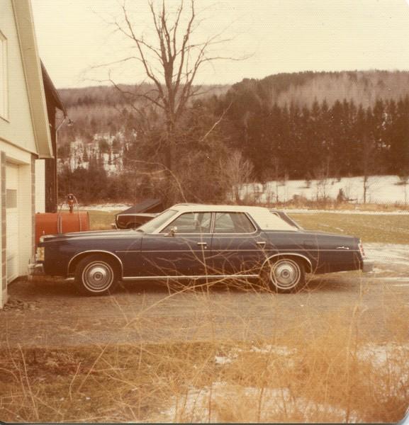 1976 Marlene's new car