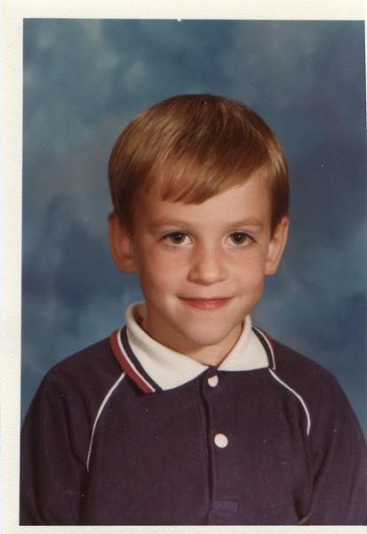 Kevin VanDeventer 1st Grade age 6