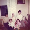 1975 Kristen's Birthday Mike and John Lord Deron VanDeventer and cousin Molly Evans