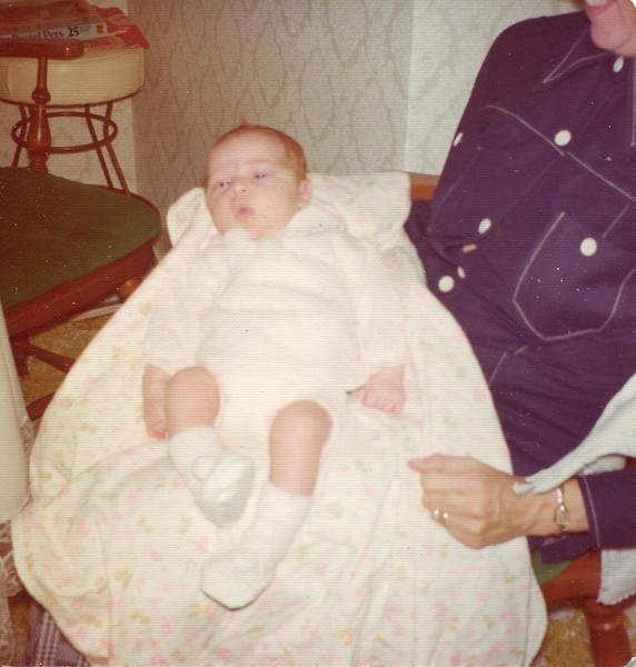 1974 Kristen Joy VanDeventer 11 days old