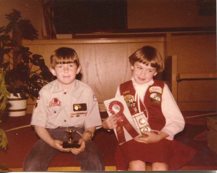 1982 Deron 10 and Kristen 7 VanDeventer
