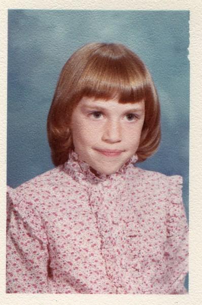 1983 Kristen VanDeventer 3rd Grade 8 years old