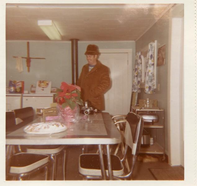 Robert VanDeventer in hat