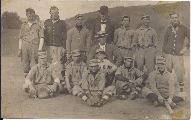 father as manager of baseball team