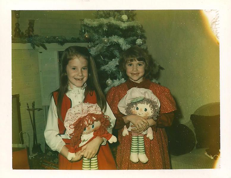 Molly Kristen Christmas 1981