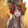 Ruby Autumn headpiece Kristen Rice