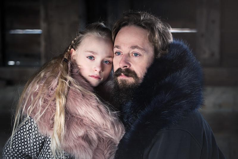 Ruby James Father Daughter Kristen Rice Vikings 2