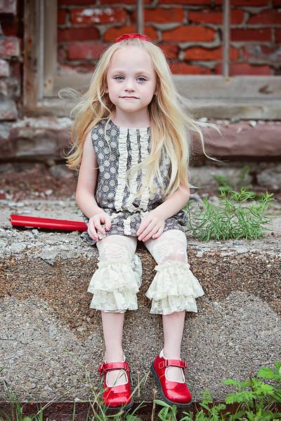 Ashley Lynne Blue dress 2