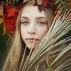 Ruby Autumn Headpiece Kristen Rice 3
