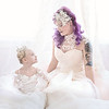 Leeandis bridal Kristen Rice Ruby Lauren Flower GIrl Bride--