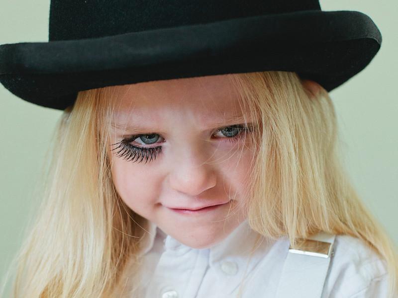 Clockwork Orange Child Toddler Alex DeLarge Bowler