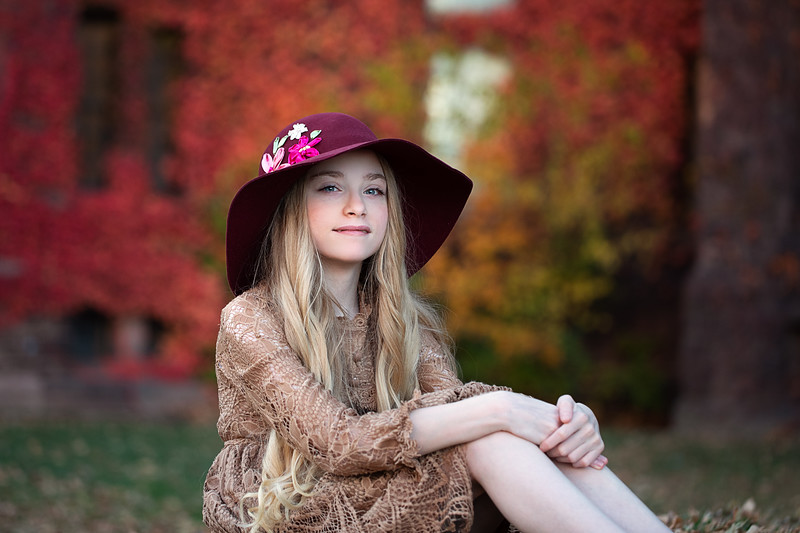 Ruby Autumn Hat 2020
