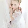 Leeandis bridal Kristen Rice Ruby flower girl