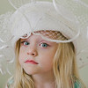 Ruby vintage hat color