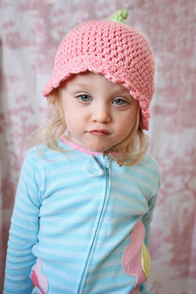 Ruby pink hat