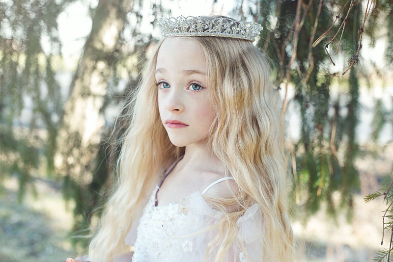 Leeandis bridal Kristen Rice Ruby flower girl 2