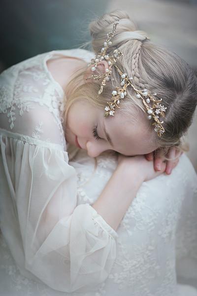 Ruby gold hairpiece Kristen Rice 3