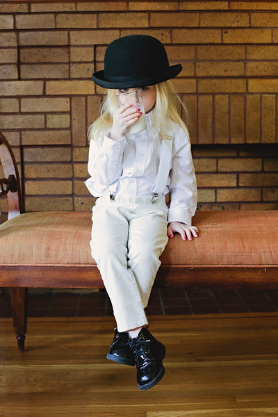 Alex DeLarge Clockwork Orange Child Milk Derby