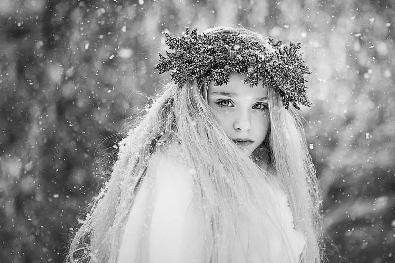 Little Winter Ruby 3 Kristen Rice bw