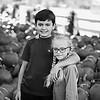 Levi Ruby pumpkins bw