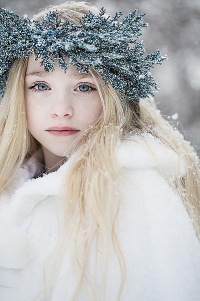 Blue Winter halo Ruby