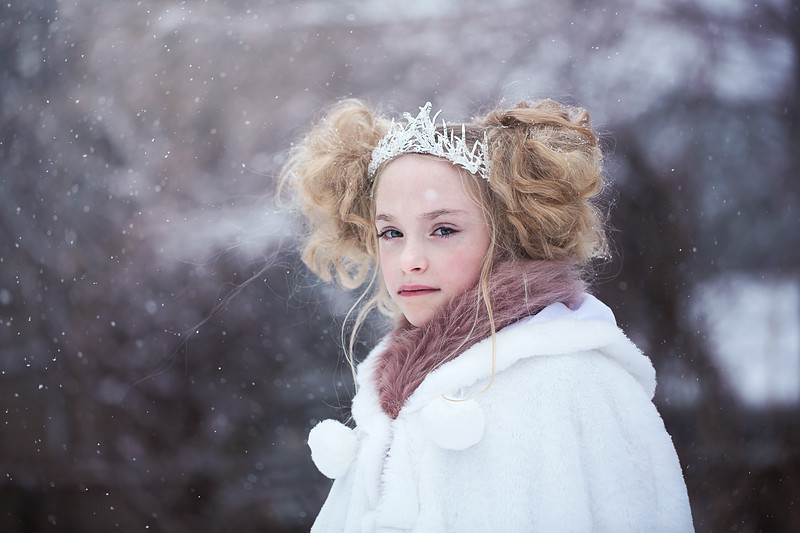 Ruby ice crown in snow Kristen Rice