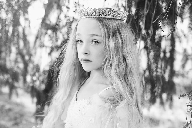 Leeandis bridal Kristen Rice Ruby flower girl 2 bw