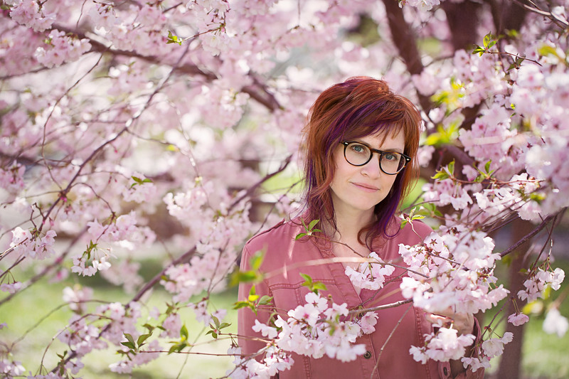 Kristen Rice Photography Buffalo NY cherry blossoms