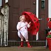 Ruby ladybug umbrella